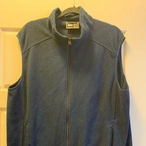 Men's REI Blue Vest Fleece